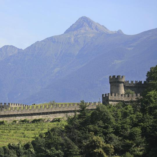 De kastelen van Bellinzona