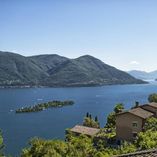 Brissago Islands on Lake Maggiore
