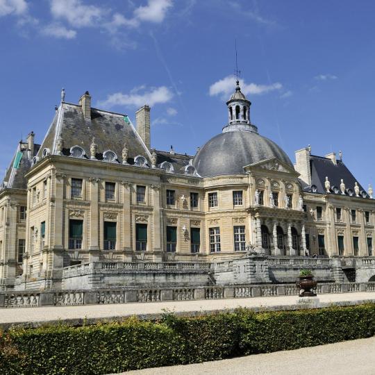Visitez le château de Vaux-le-Vicomte aux chandelles