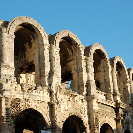 Die römische Arena von Arles