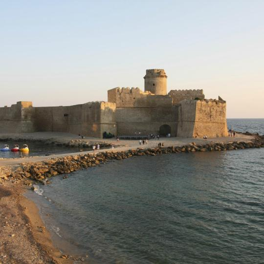 Explore Calabrian history at Le Castella Fortress