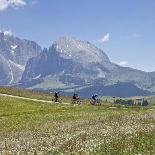 Get on your bike in the Dolomites