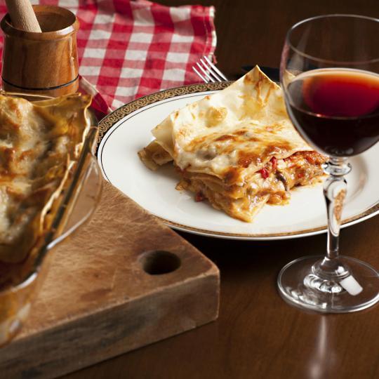 Sample regional cuisine in Emilia Romagna's hills
