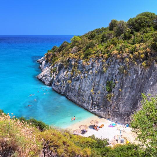 Пляж Ксигия