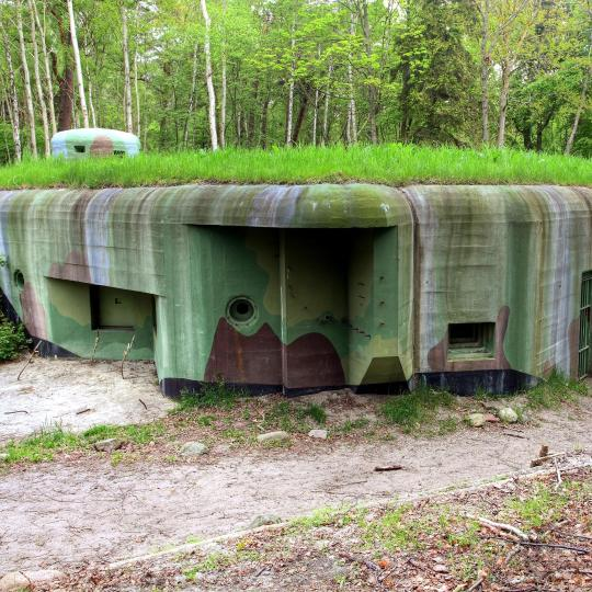 Bunkers in Ustka