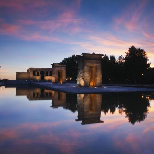 Sunset from the Temple of Debod