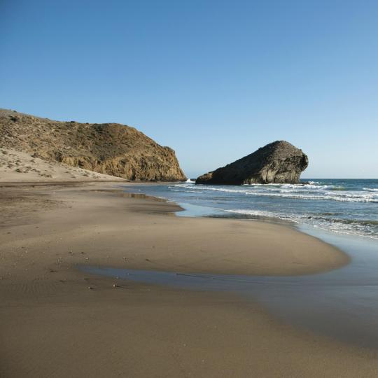 Strand van Monsul in Cabo de Gata