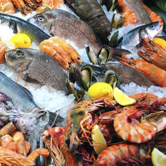 Tassie's fresh seafood