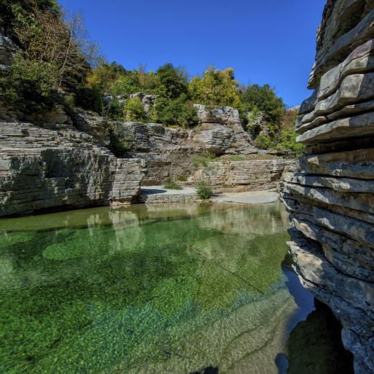Hot springs in Montanejos