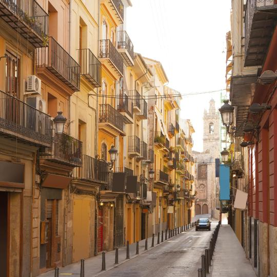 Valencia's Barrio del Carmen district