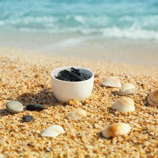 Baños de barro en el mar Menor