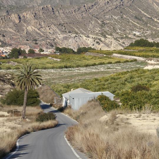 Vía Verde entre Murcia y Caravaca de la Cruz