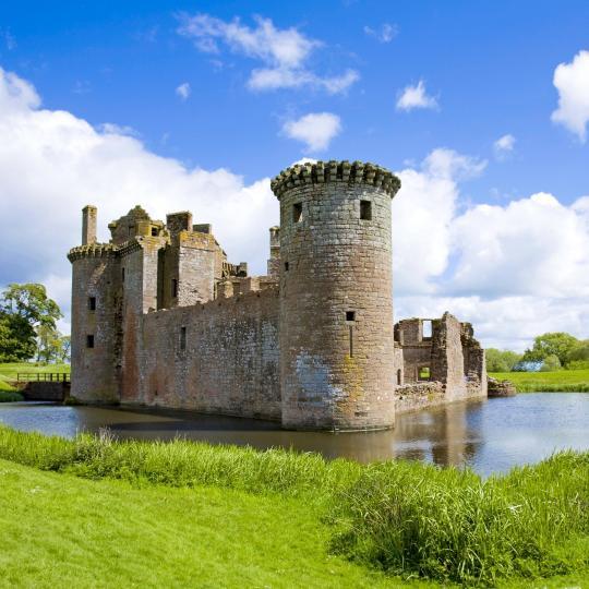 Los castillos históricos de Escocia