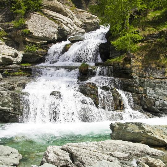 Lillaz Waterfalls