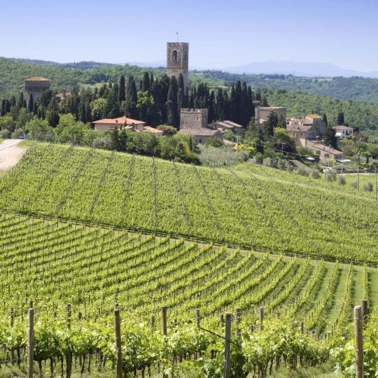 The Chianti Castle routes