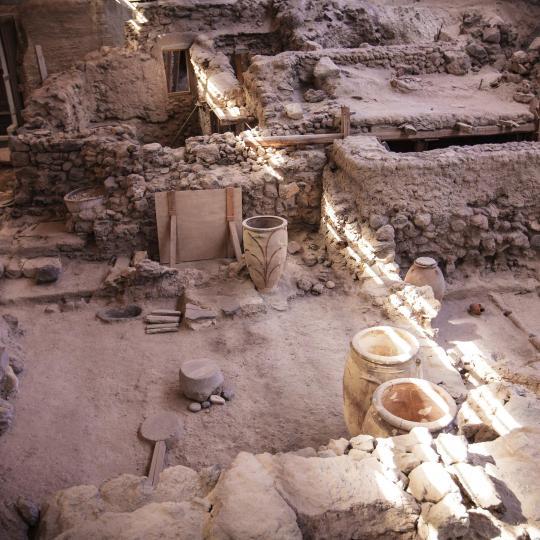 Stanowisko archeologiczne Akrotiri