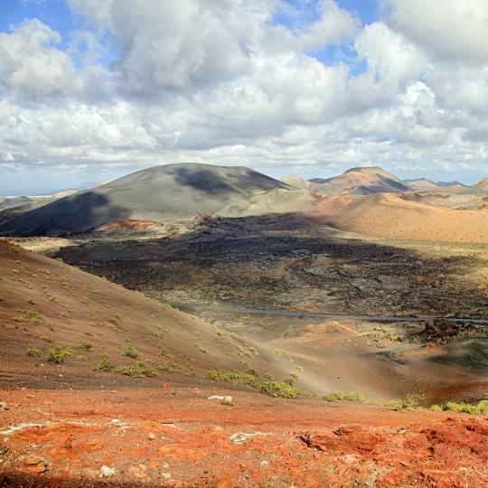 Montañas de Fuego Mountains