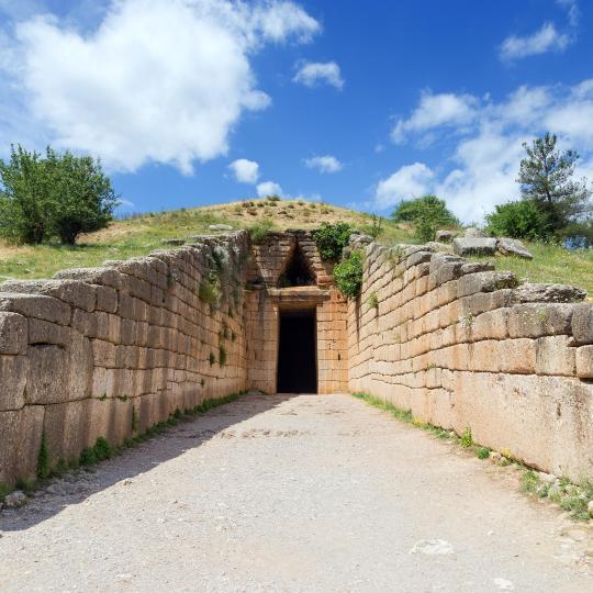 Древнє місто Мікени