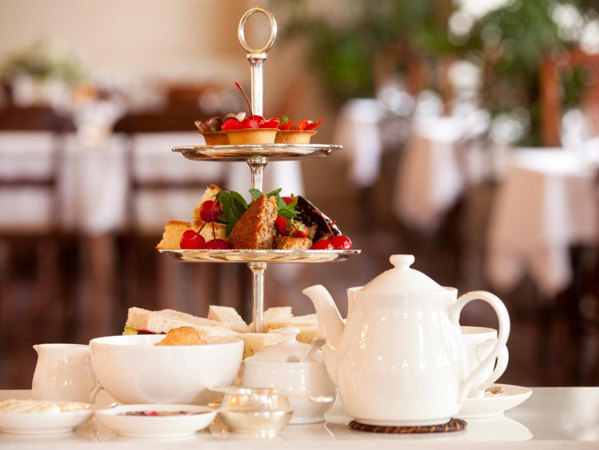 Another great activity to partake in on a rainy day is a traditional High Tea
