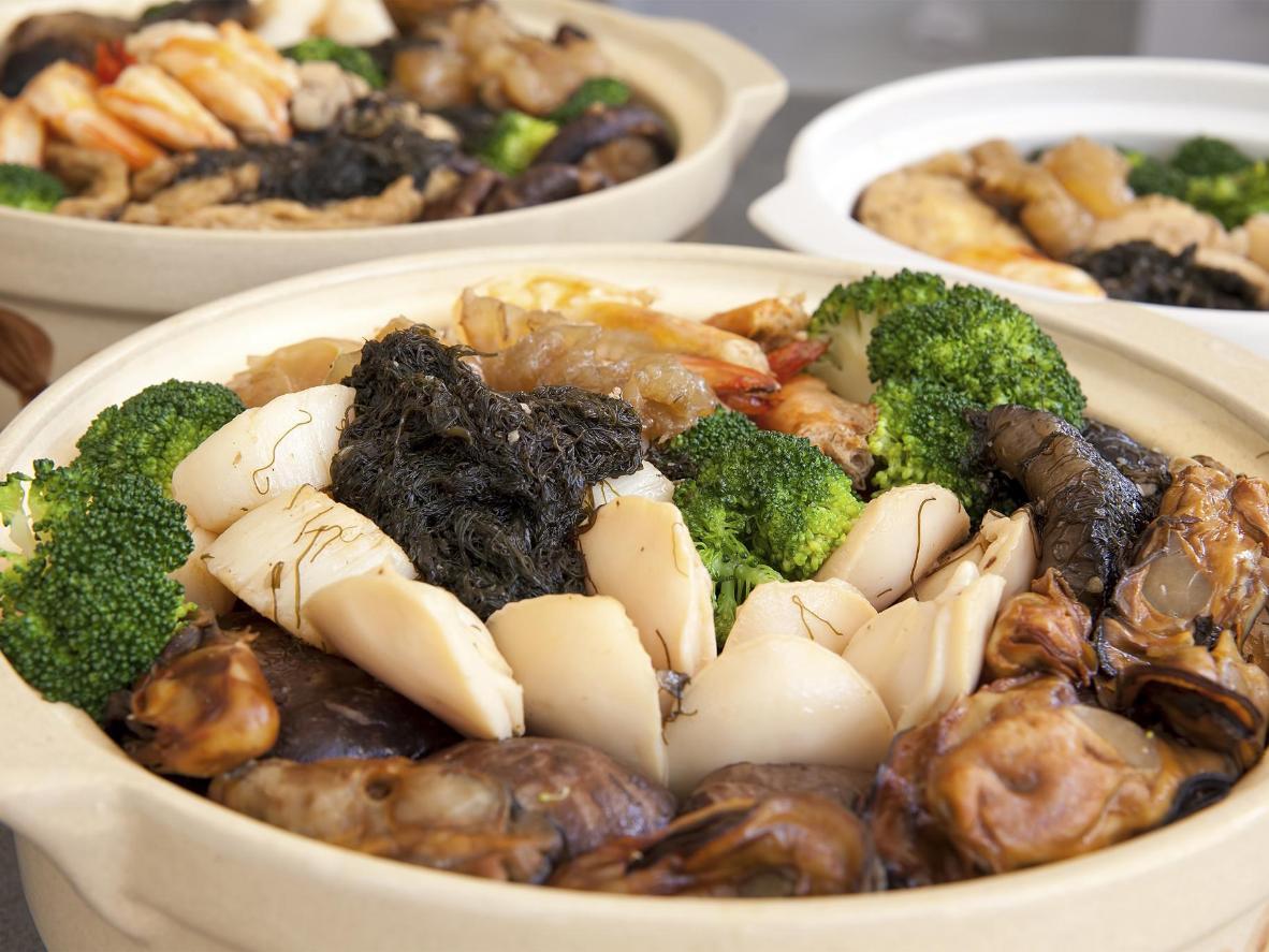 香港式おせち?盆菜。