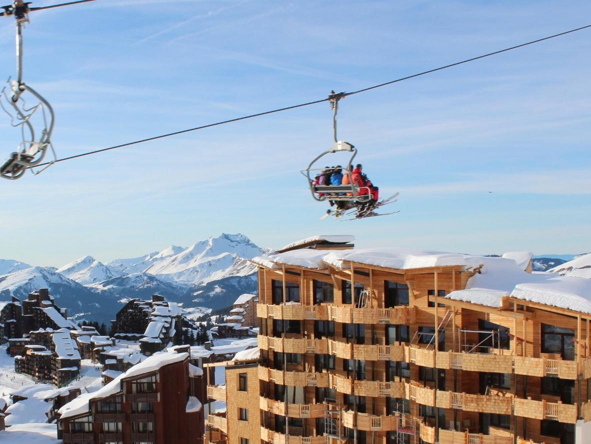 Challenge yourself by attempting the 'Swiss Wall' slope in Avoriaz, France