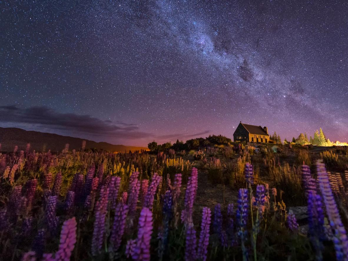 The International Dark Sky Reserve of Lake Tekapo, New Zealand