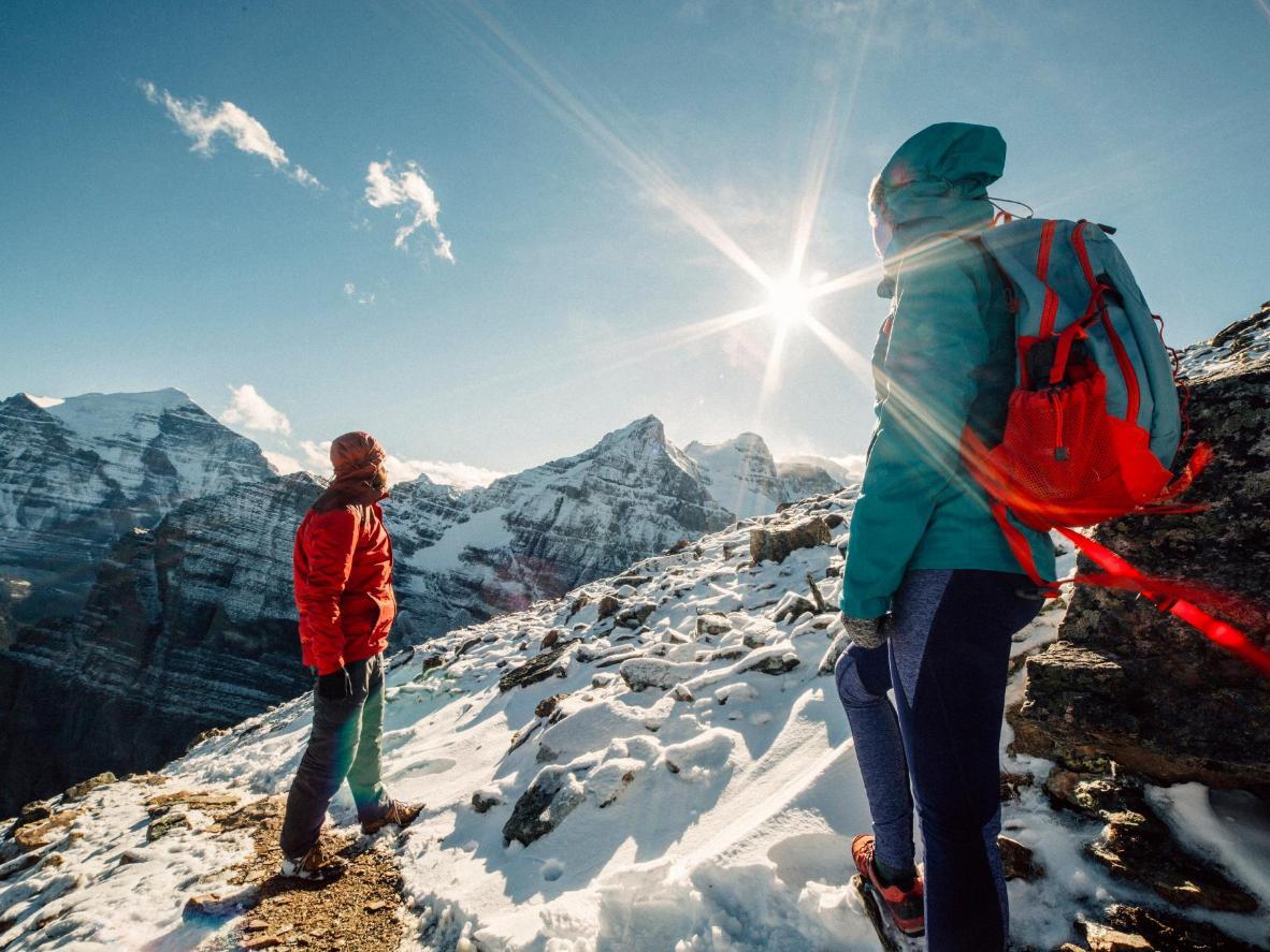 Прогулка по национальному парку Банф — лучший отдых после катания на лыжах