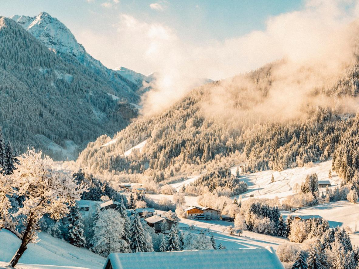 Kitzbühel is home to one of the most notorious downhill ski races