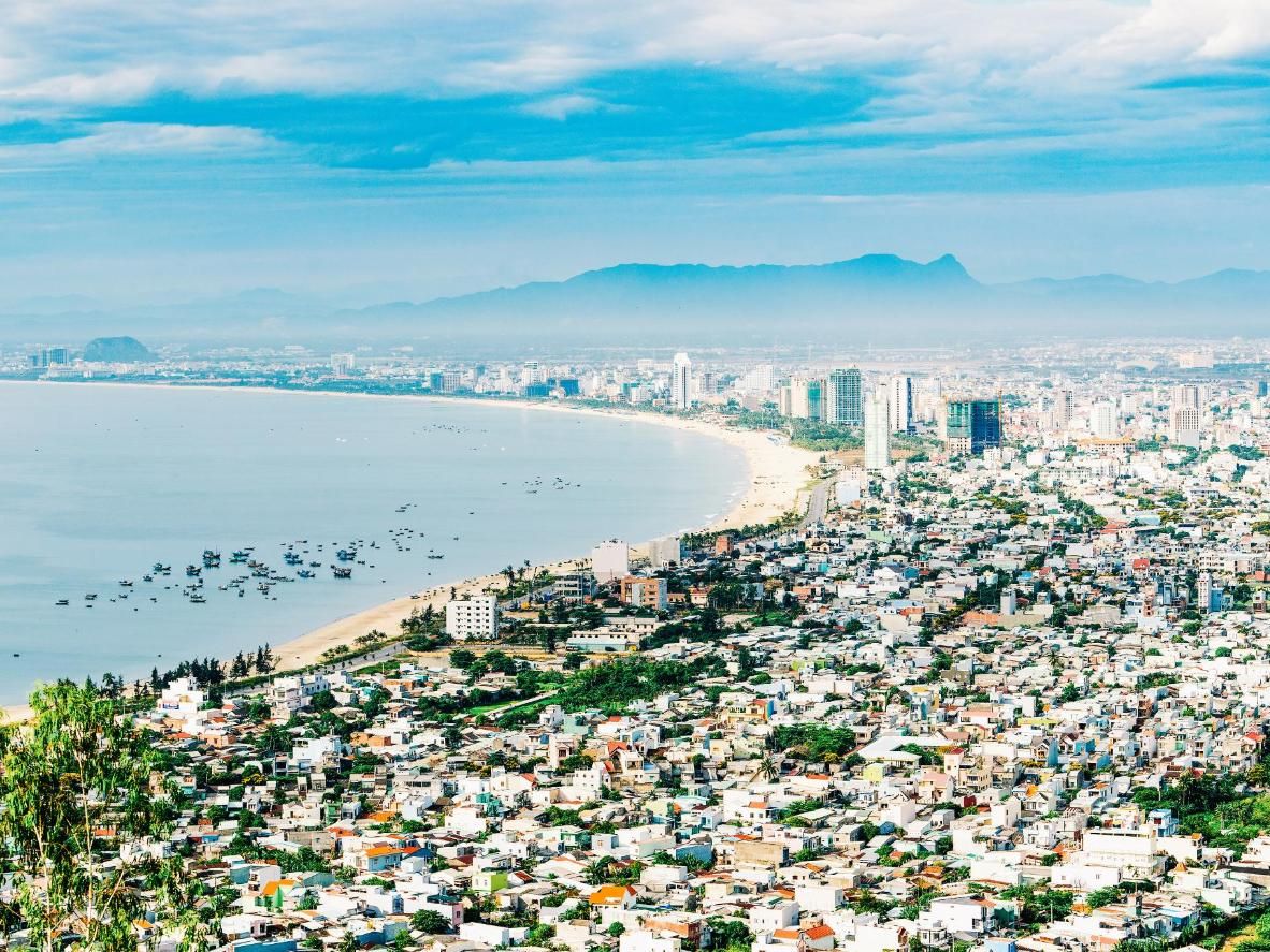 Sunbathe on the beach during the day then get ready to enjoy Danang's nightlife
