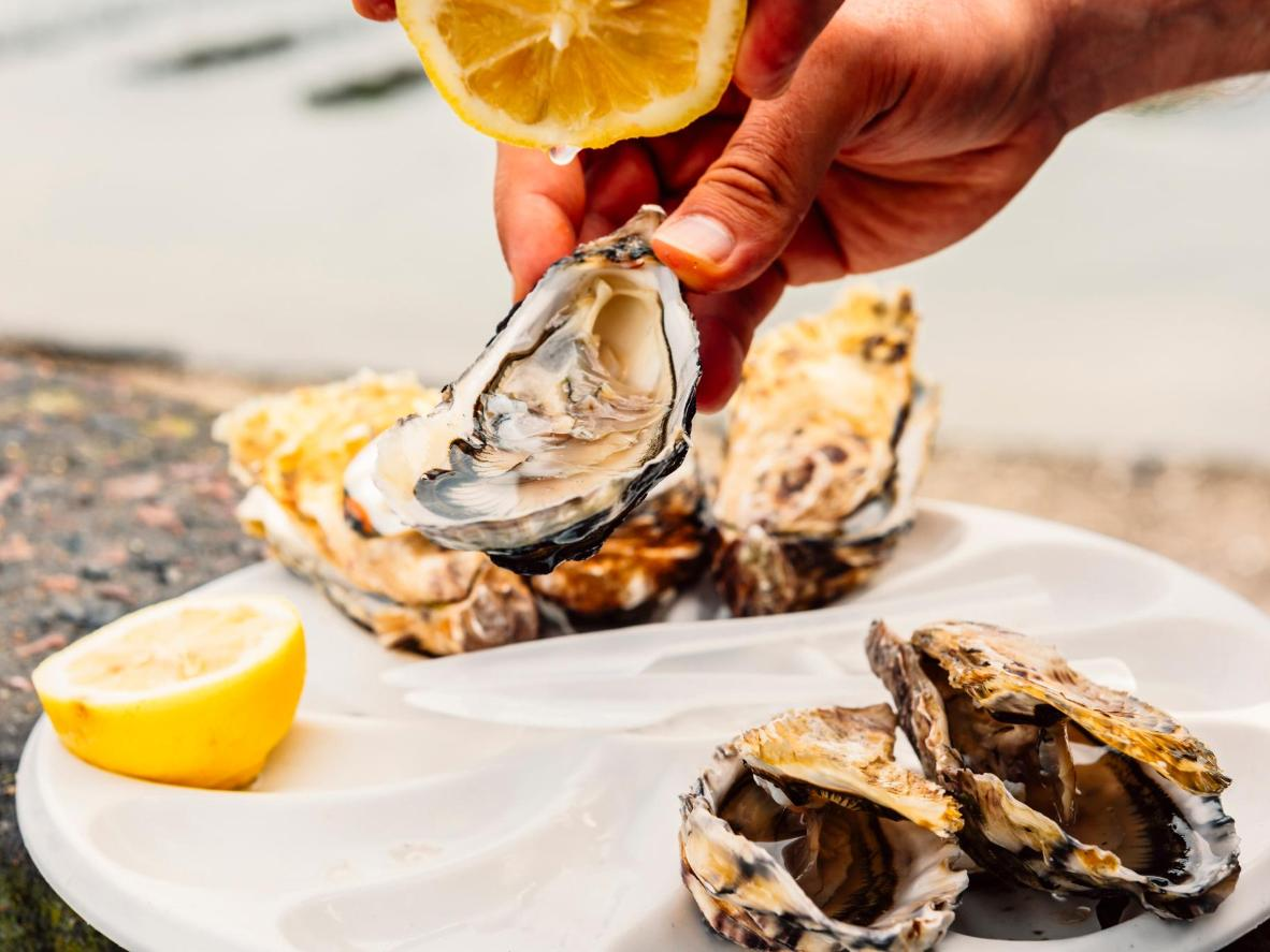 Oyster fans will have a field day in Cancale