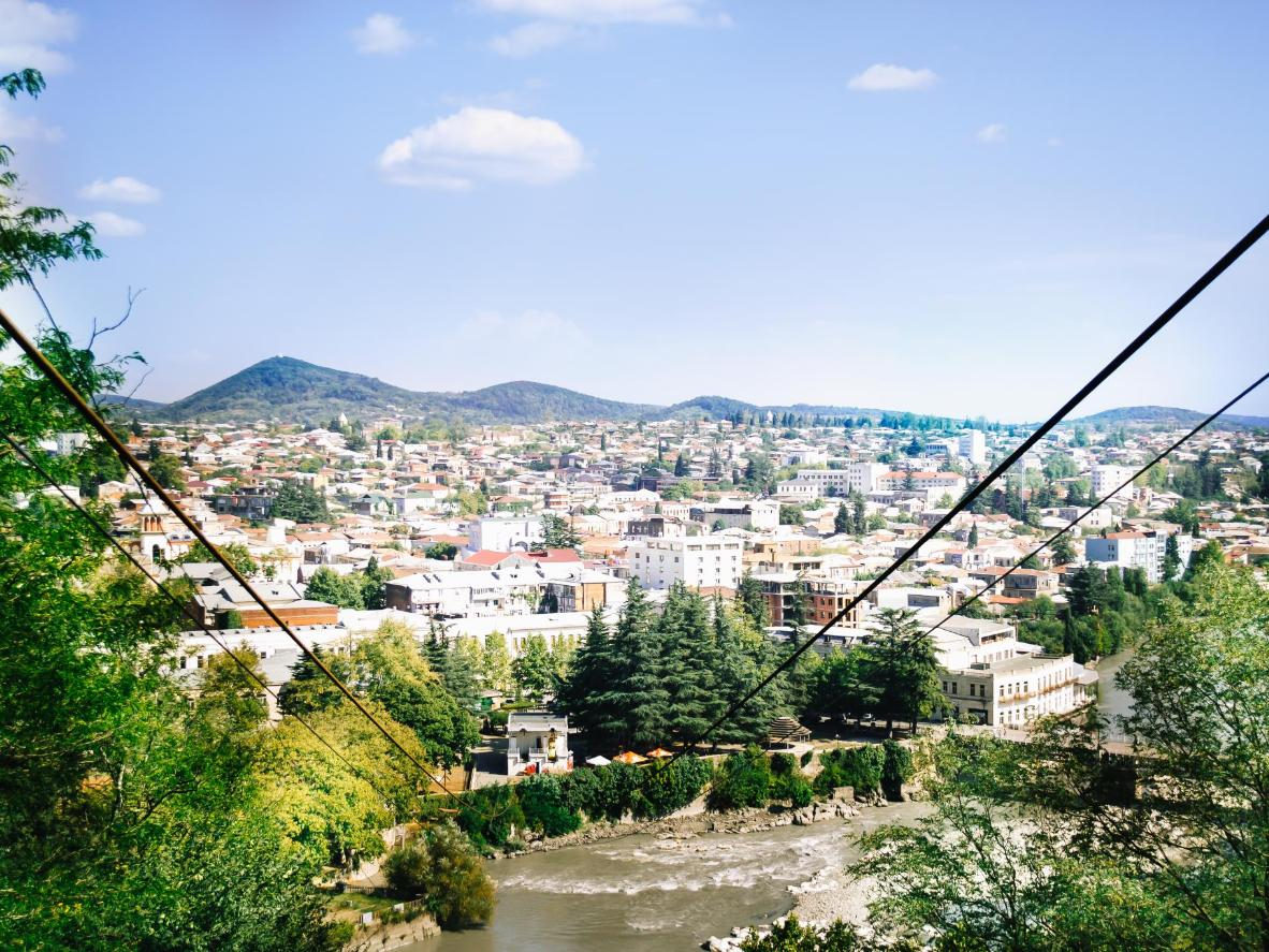 The Cable Cars in Chiatura