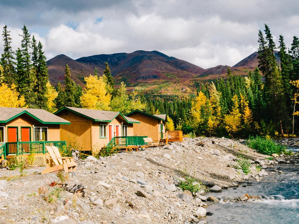 McKinley Creekside Cabins asub Denali rahvuspargi lähedal