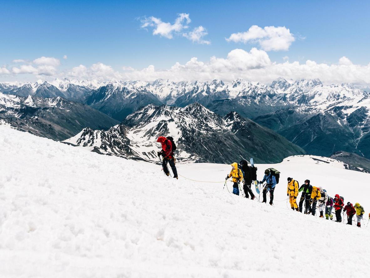 Elbrus on populaarne algajate mägironijate seas
