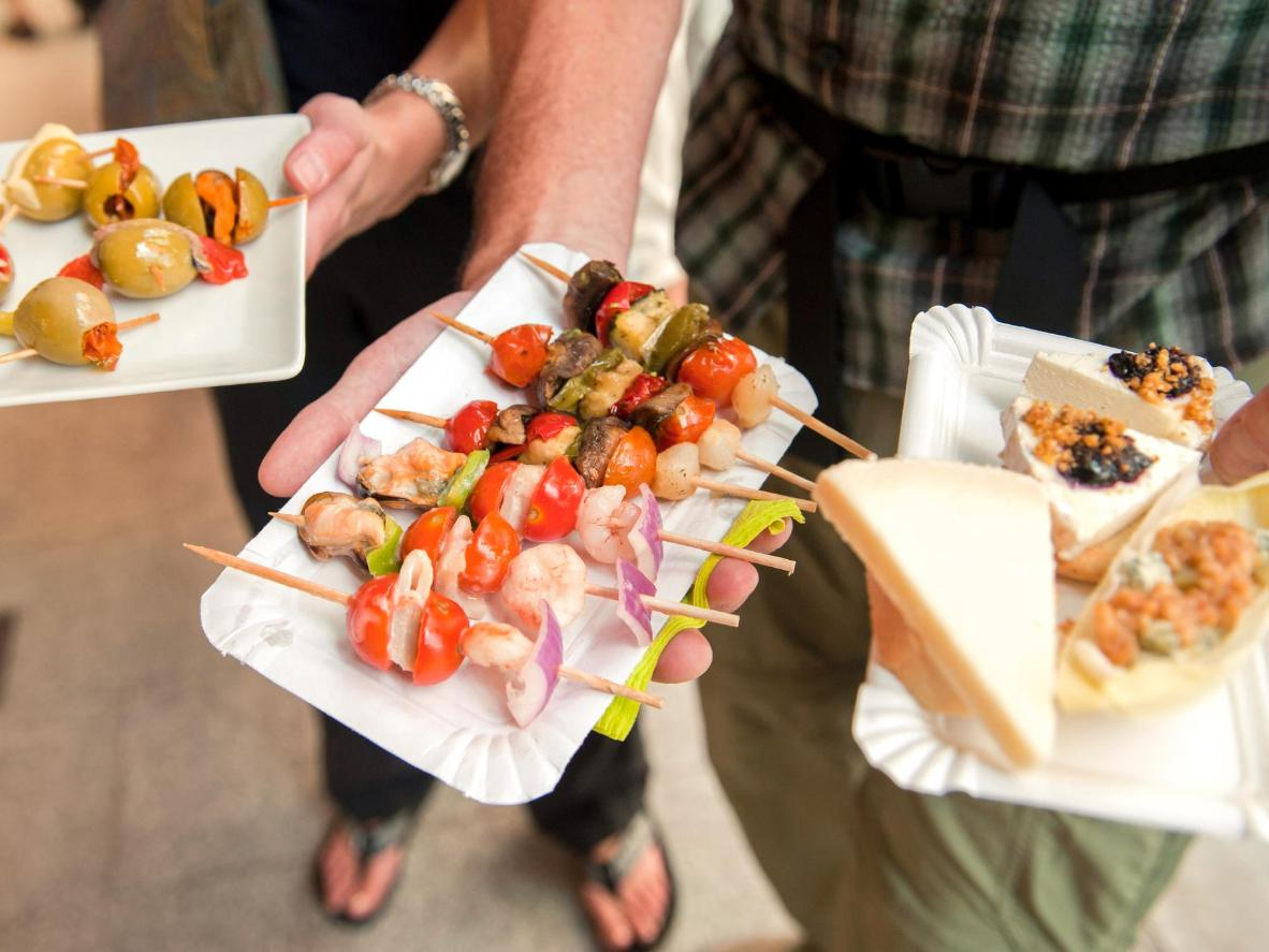 Tapas in Granada come free with every drink