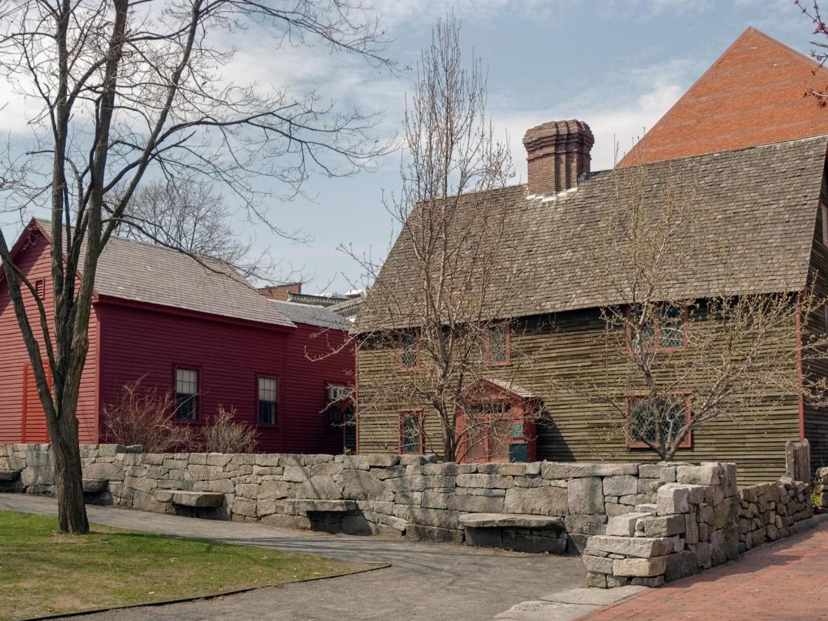 The Salem Witch Memorial in Massachusetts