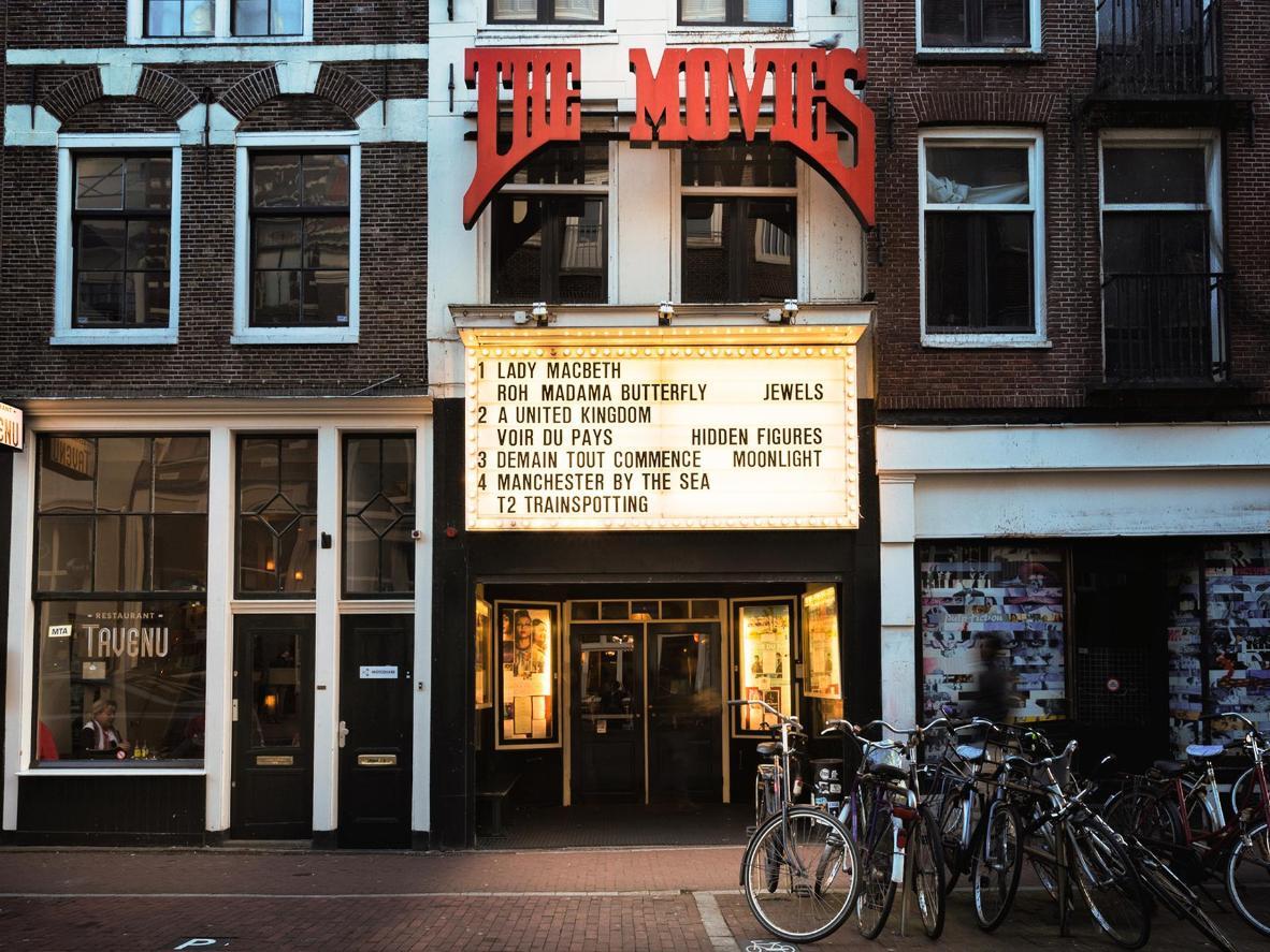 Amsterdam's veteran, Art Deco cinema, The Movies