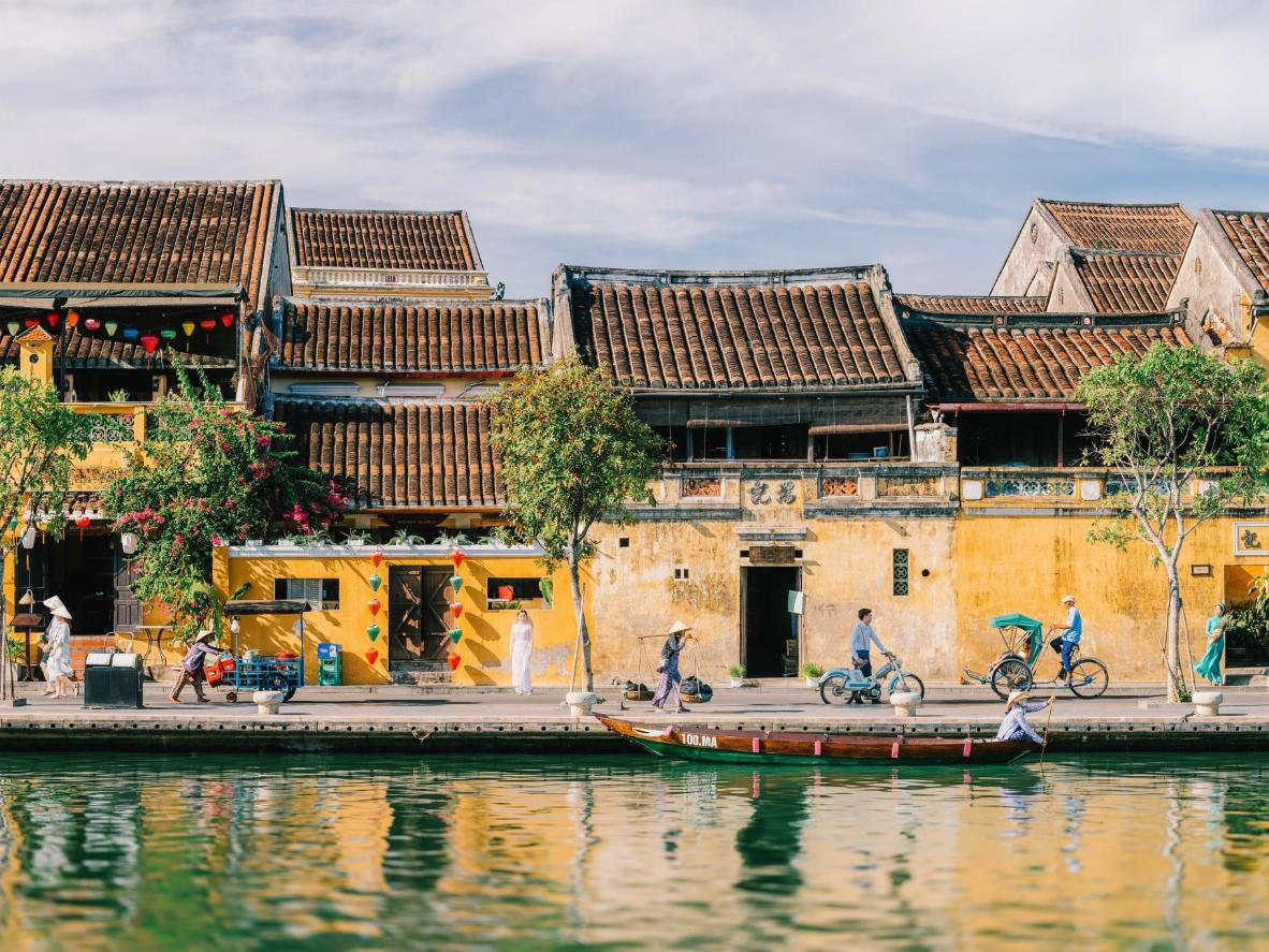 Spend New Year's Eve in the ancient coastal village of Hoi An