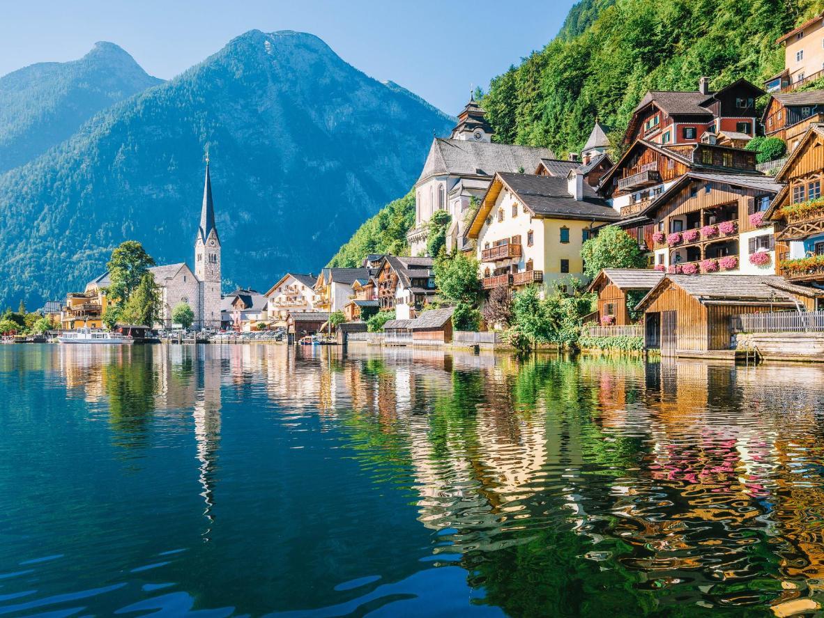 Popływaj żaglówką po jeziorze Hallstätter See