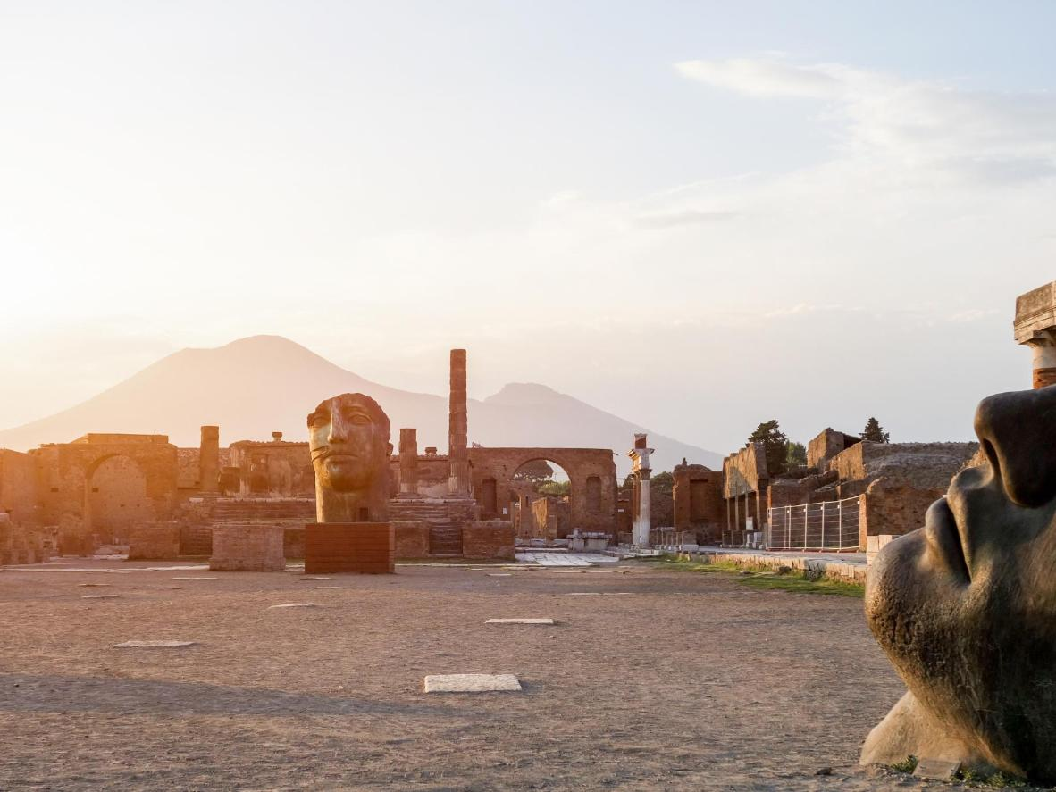 Pompeii di Gunung Vesuvius