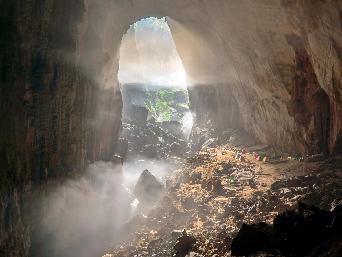 Phong Nha is home to the largest cave in the world, Hang Son Doong