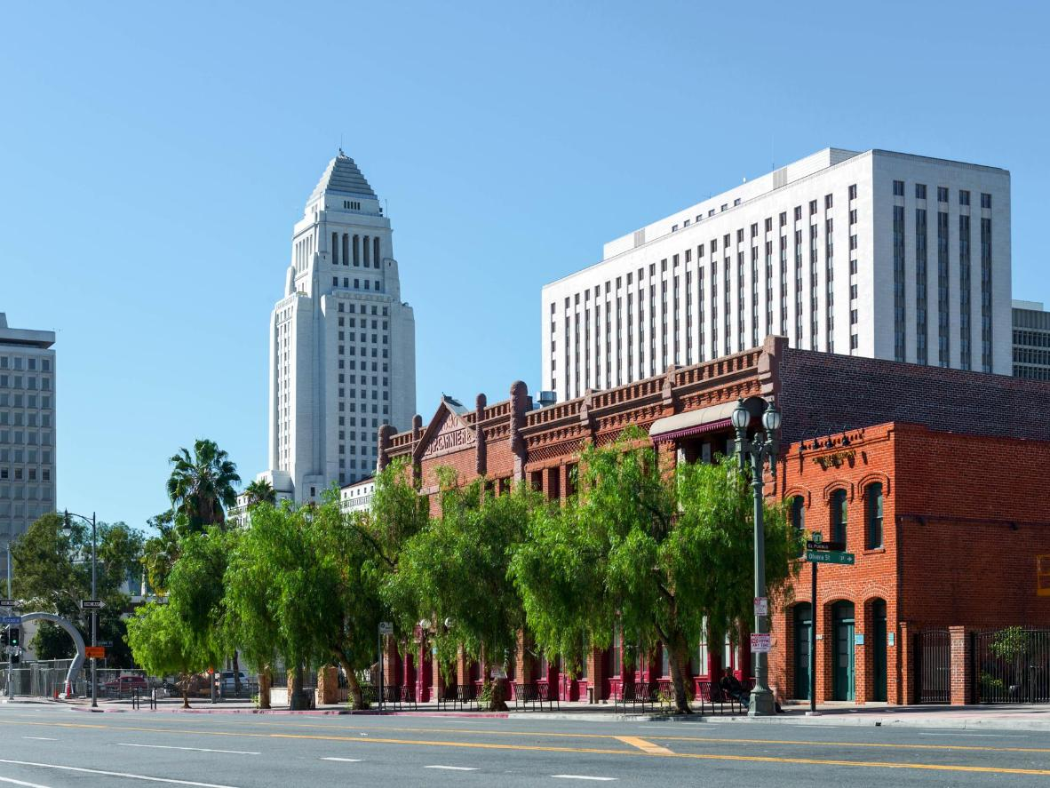 Visit the iconic Los Angeles City Hall