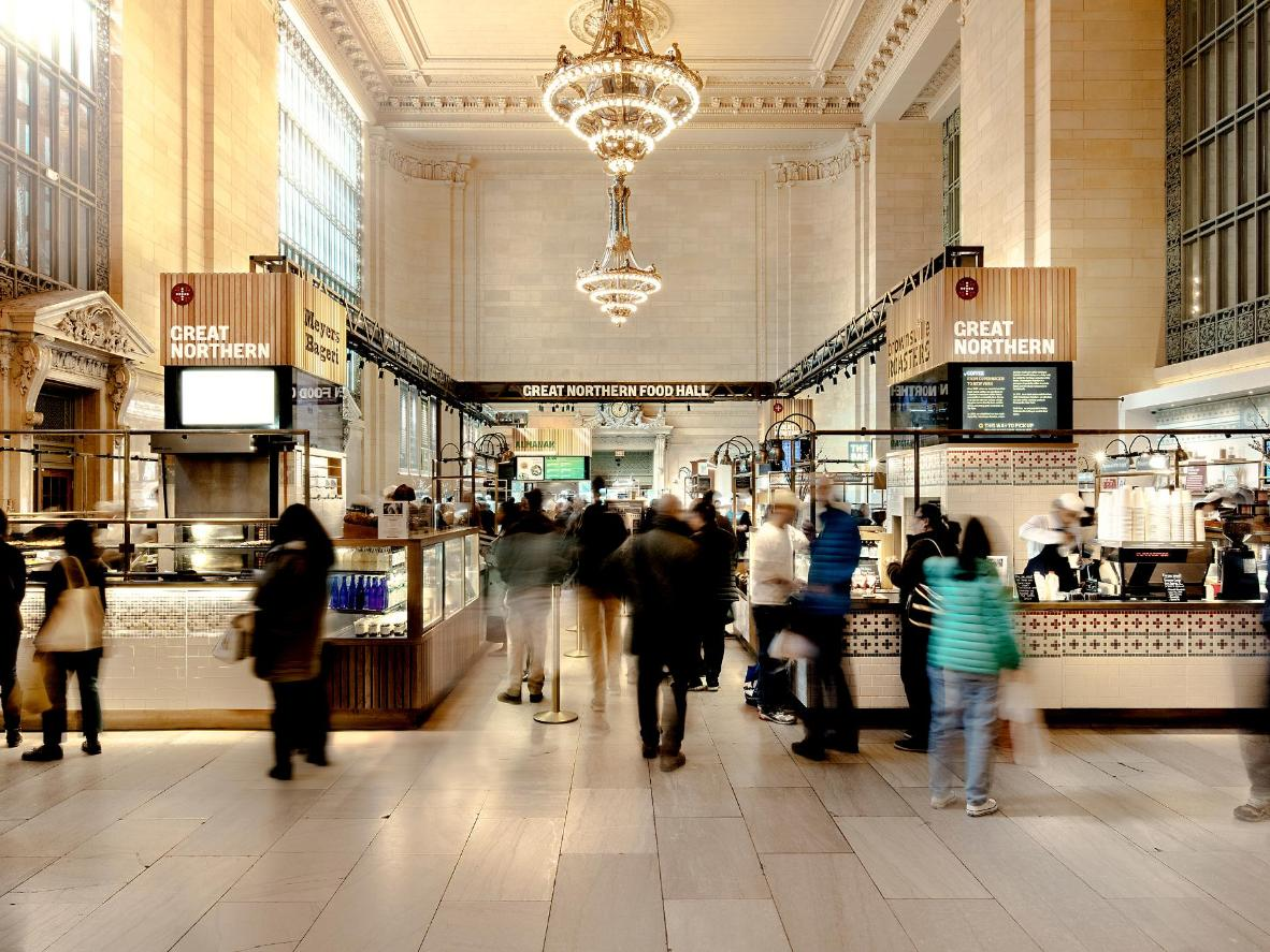 Great Northern Food Hall di Grand Central Station