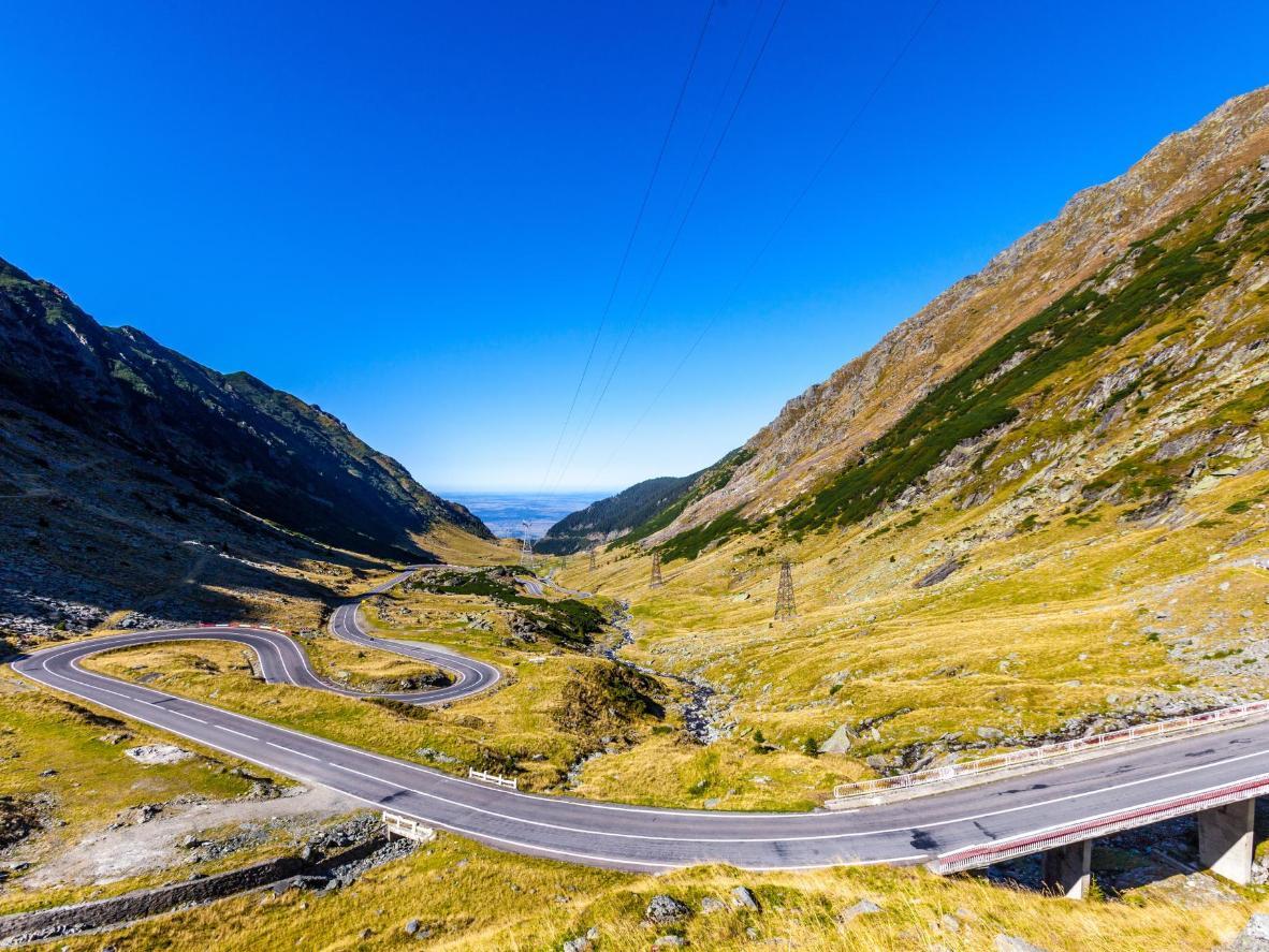 Top Gear a nommé la Transfăgărașan la plus belle route du monde
