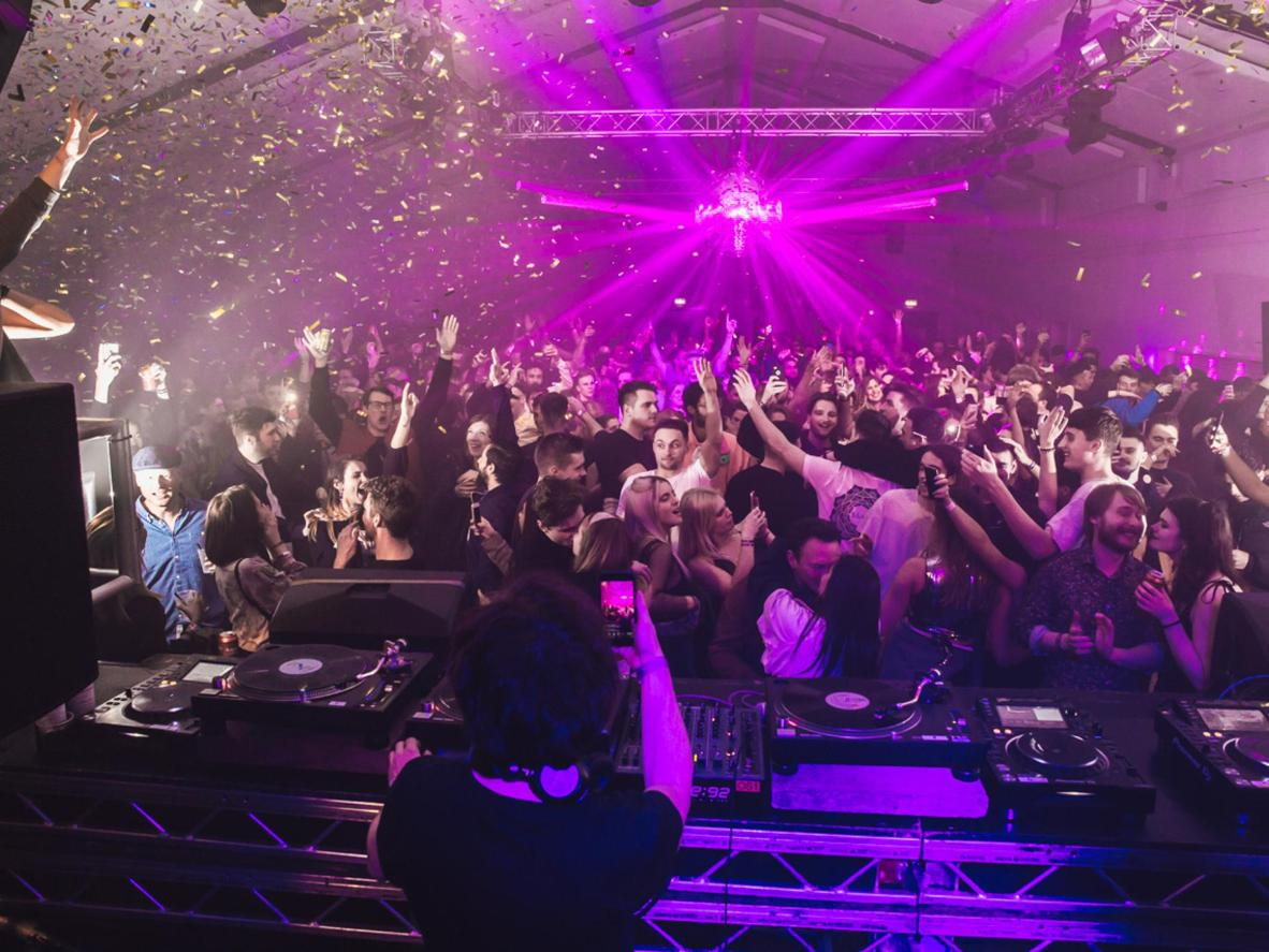 Head to Hackney's Oval Space for a stellar club night. Image credit: Sam Byran-Merrett for Here & Now/Oval Space