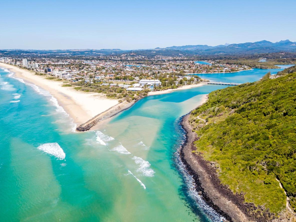 Tallebudgera Creek and the Burleigh Heads