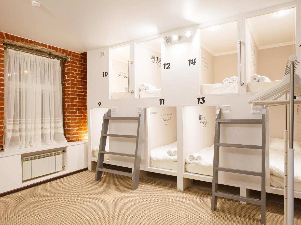 Capsule Hotel InterQUBE Chistye Prudy in Basmanny
