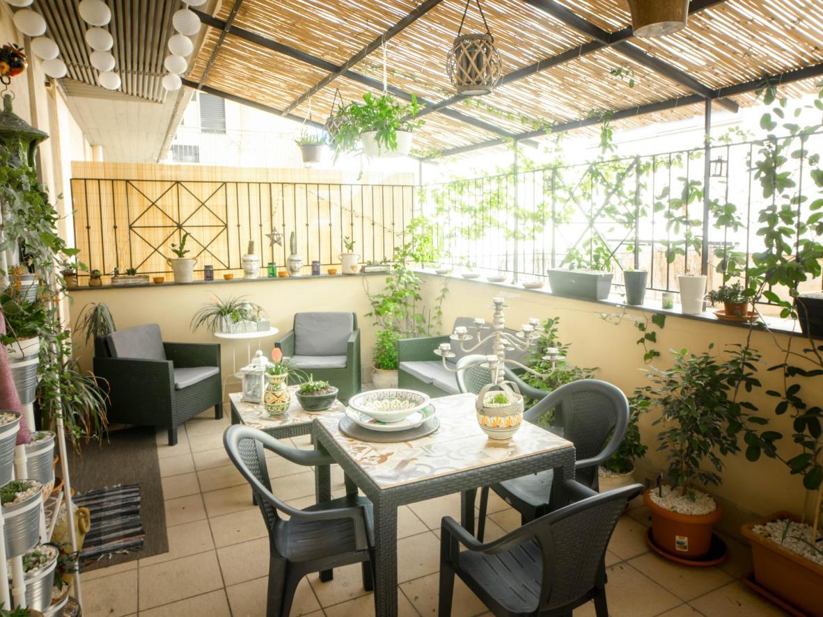 La terrazza verde di Casa Mayka