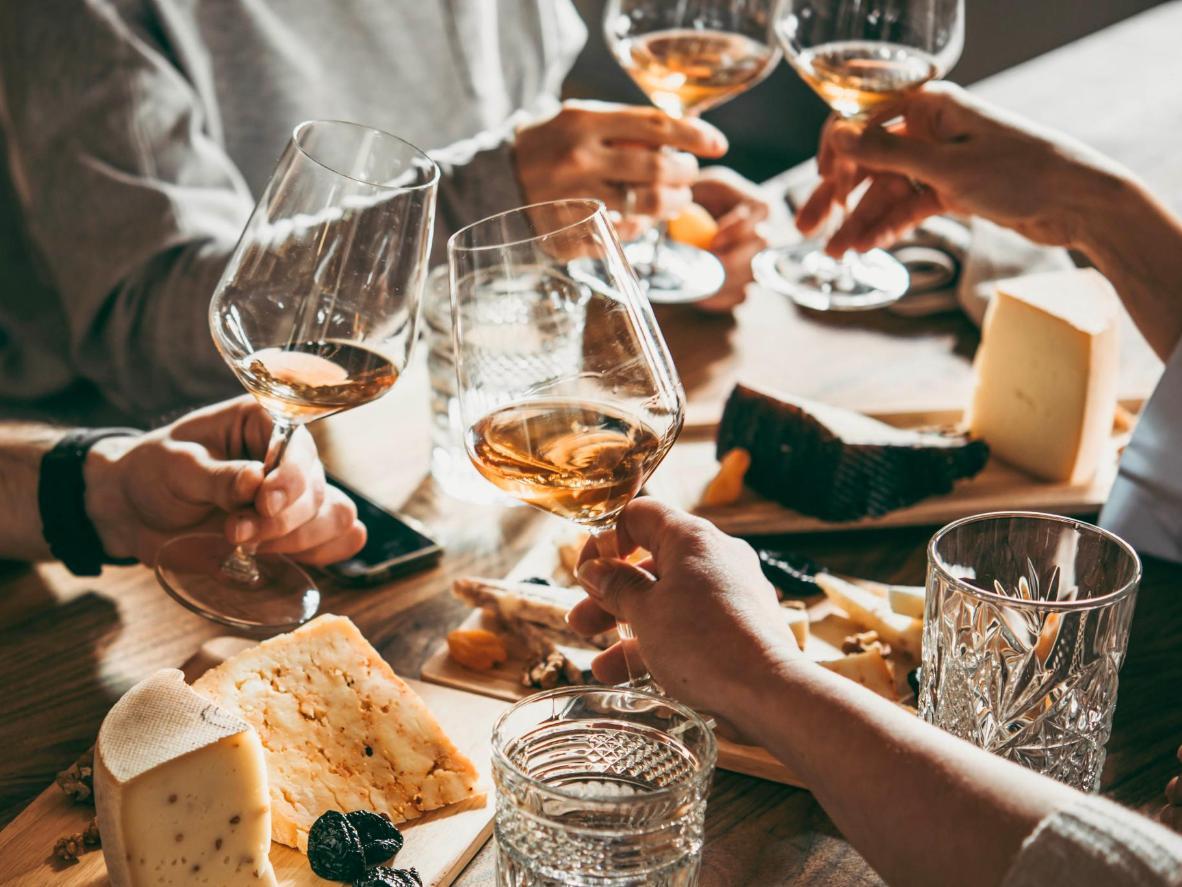 W Plateau można wybierać spośród ponad 20 różnych win