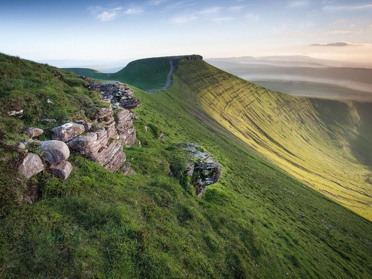Hike the slopes of Pen y Fan, the highest peak in south Wales
