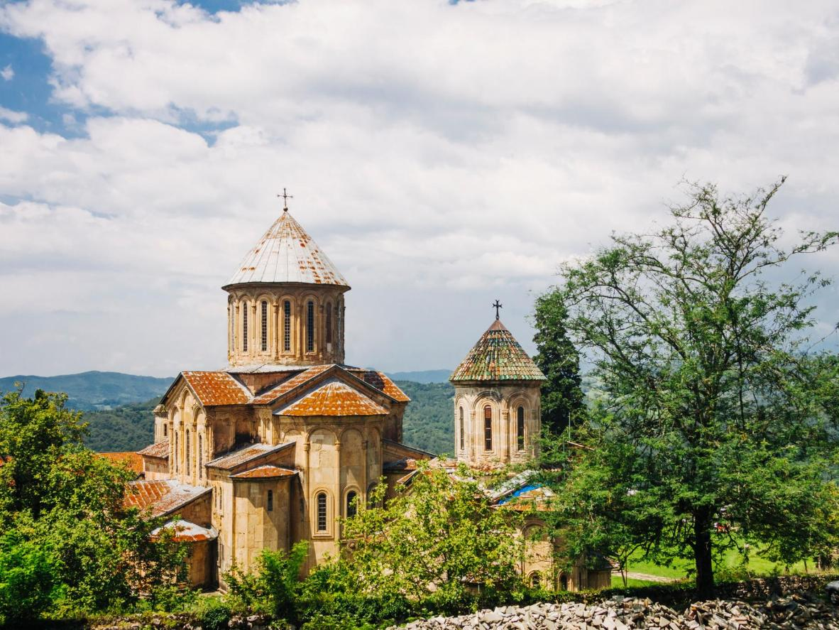The Gelati Monastery is a symbol of Kutaisi and the Georgian Golden Age